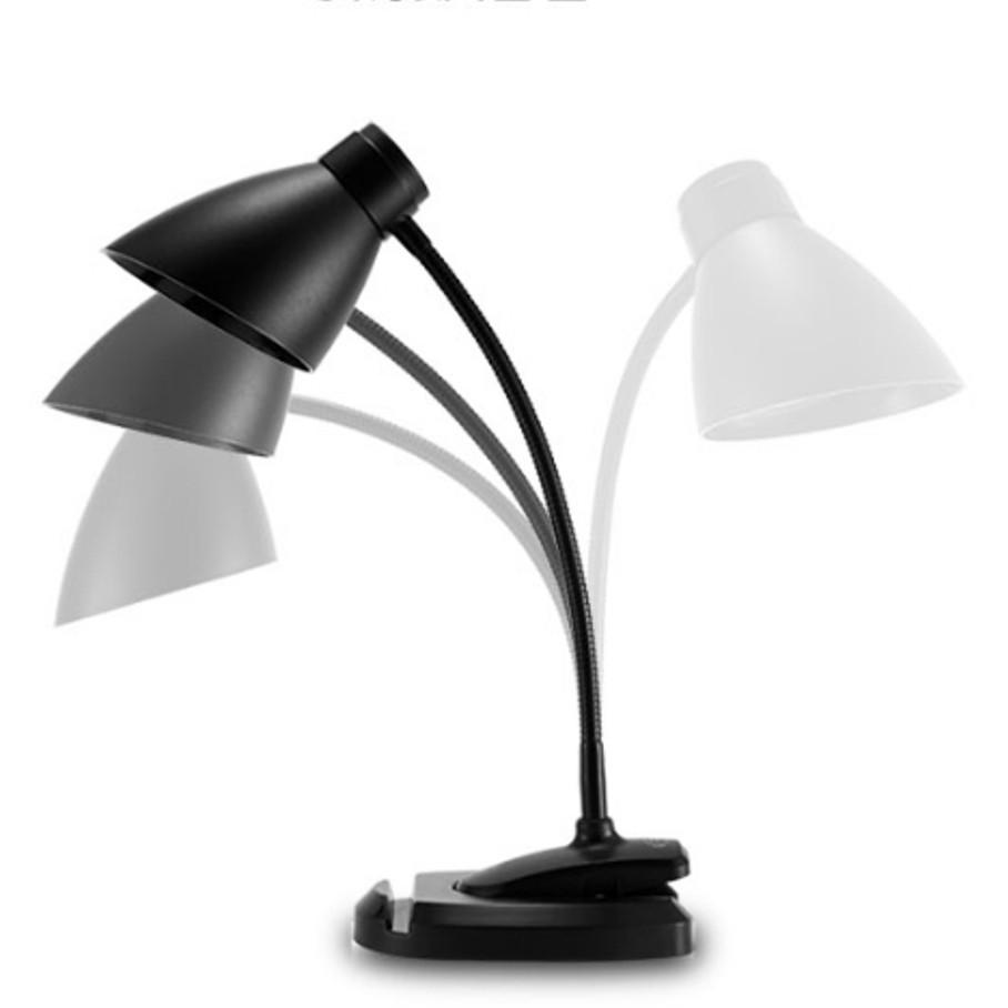 Универсальная LED лампа-прищепка Remax RT-E500 Black с аккумулятором. Светодиодная лампа портативная