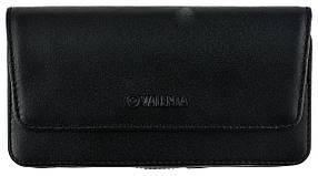 Чехол на пояс Valenta для смартфонов 5.5 - 6 Черный C-401 Note, КОД: 132451