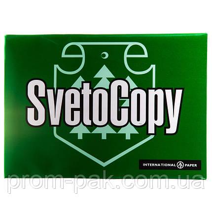Бумага  белая офисная 80 г м2  SvetoСopy A5  500лис, фото 2