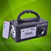 Портативная колонка со встроенным аккумулятором, USB, CardReader, FM Радио.
