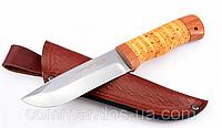 Нож охотничий. Рукоять - береста