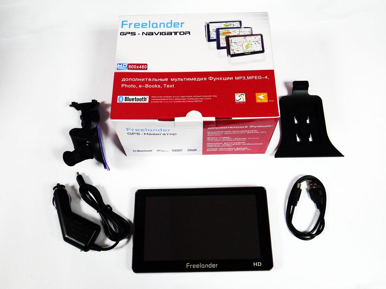 """7"""" GPS Навигатор  Freelander G712BT 4Gb+AV-in+BT, фото 1"""