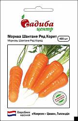 Семена моркови Шантане Ред Корет 400 шт, Nickerson Zwaan