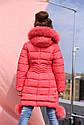 Пальто детское Кина 2 c  натуральным мехом -ТМ Nui Very Размер 28, фото 4