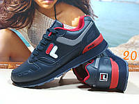 Мужские кроссовки Fila RJ STAR 85 (реплика) синие 45 р., фото 1