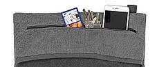 Многофункциональное спортивное полотенце TOWELL+ Серое-черное, КОД: 144454, фото 2