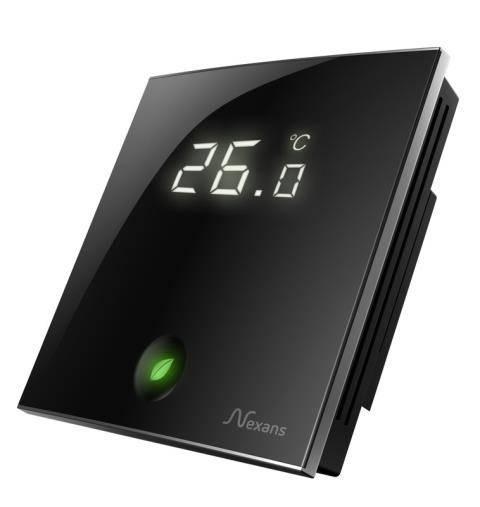 Программируемый терморегулятор Nexans Millitemp 2 BREATH, сенсорный