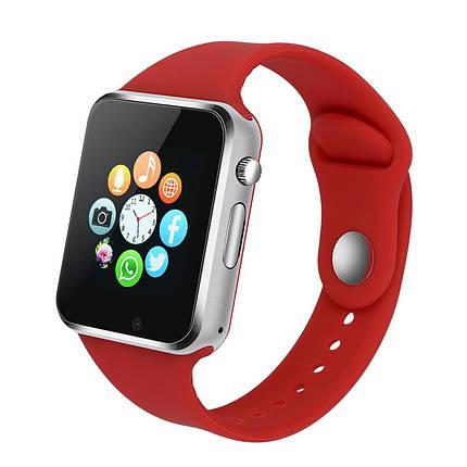 Смарт-часы SmartWatch UWatch A1 Red 3, КОД: 148284, фото 2