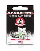 Картриджи Вкус White Mint - для электронного кальяна Starbuzz e-hose