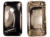 Задняя крышка для  iPhone 3G 8Gb Black (с рамкой)