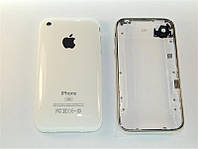 Задняя крышка для  iPhone 3G 8Gb White (с рамкой)