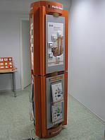 Рекламная стойка для презентации товара
