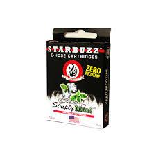 Картриджи Вкус Simply Mint - - для электронного кальяна Starbuzz e-hose