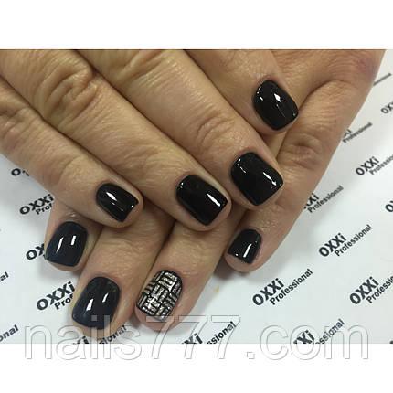 Гель лак Oxxi №056 черный,  10 мл, фото 2