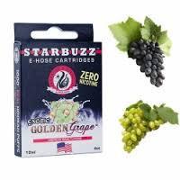 Картриджи Golden Grape  для электронного кальяна Starbuzz e-hose