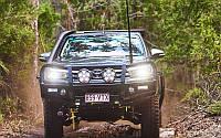 Передний бампер силовой TJM Toyota Hilux 2015+, фото 1