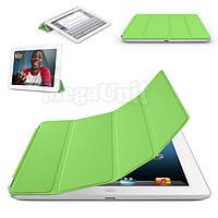 Чехол-обложка Smart Cover Polyurethane для iPad 2/3/4 Зеленый