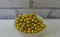Посыпка кондитерская, золото, 8 мм