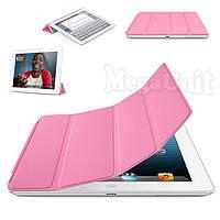 Чехол-обложка Smart Cover Polyurethane для iPad 2/3/4 Розовый
