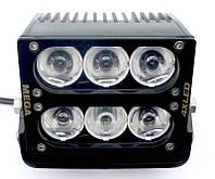 Светодиодная фара MEGA-V 60W узконаправленный дальний свет, фото 1