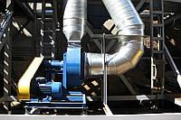 Установка центробежного вентилятора