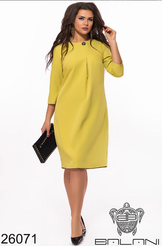 a1103653c05 Женское платье в большом размере Фабрика моды Минова Либутик в интернет- магазине недорого р.