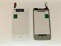 Сенсорный экран для Lenovo A390T White