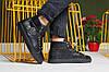 Мужские высокие ботинки Philipp Plein черные топ реплика, фото 4