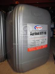 Масло трансмиссионное Агринол ATF III (Канистра 20л/17,5кг) ATF III