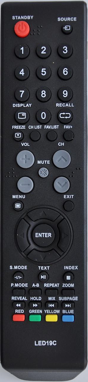 Пульт с телевизора SATURN. LED19C