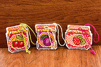 Набор для вышивки крестом Риолис 1749АС «Баночки с вареньем», фото 1