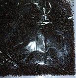 Бисер темное золото с серебряной серединкой, фото 2