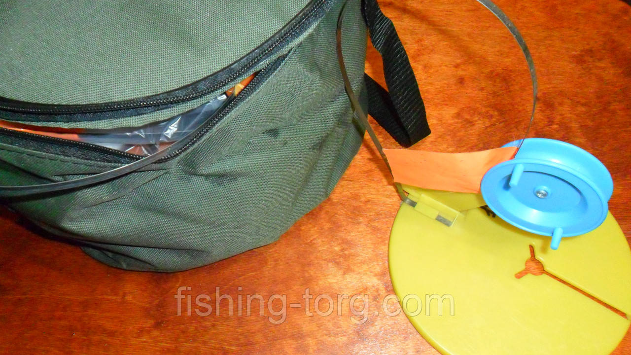 набор жерлиц сумских пластиковых в герметичной сумке неоснащенных 10штук