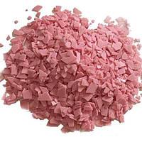 Шоколадные осколки розовые, 100 грамм