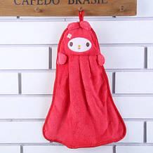Дитяче рожеве рушник