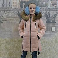 Детская одежда.  Пальто зимнее - Маргарет(пудра)     ), фото 1