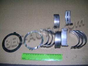 Вкладыши к/в ГАЗ-53  1,0 коренные с кольцами разбега
