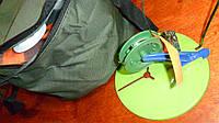 Набор жерлиц СУМСКАЯ ПЛАСТИКОВАЯ в герметичной сумке оснащенных 10шт