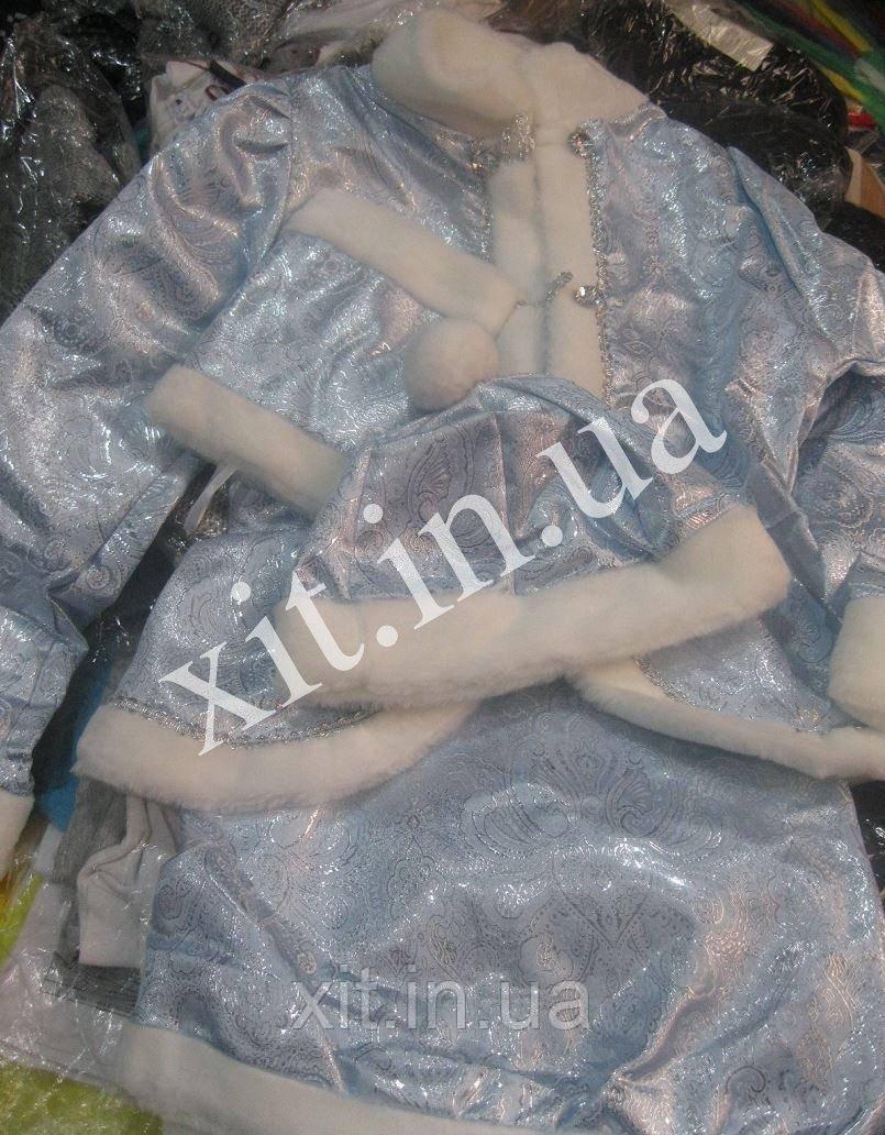 Детский новогодний костюм Снегурочка, р-р 30, 32, 34