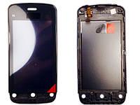 Сенсорный экран для Nokia C5-03 High Copy Black с рамкой
