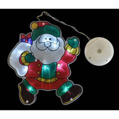 "Наклейка-светильник ""Дед Мороз"", 19,5*21,5 см YES! Fun 801077"