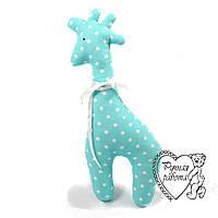 М'яка іграшка Сплюшка для малюків Жираф великий, ручна робота