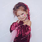 Канекалон ярко розовый нежно розовый омбре для причёсок, для кос брейд, фото 10