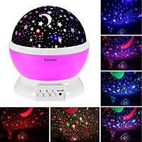 Ночник проектор звездного неба Star Master Dream rotating projection lamp, стар мастер