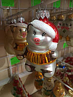 Новогодняя игрушка на елку ручной работы 1 штука