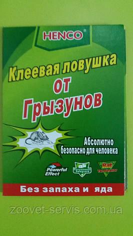 Клеевая ловушка-книга против грызунов и насекомых малая HENCO 17х26, фото 2