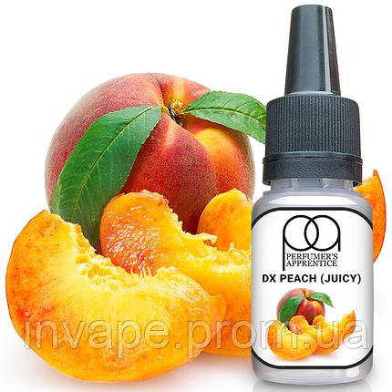 Ароматизатор TPA DX Peach (Juicy) (DX Сочный персик) 5мл, фото 2