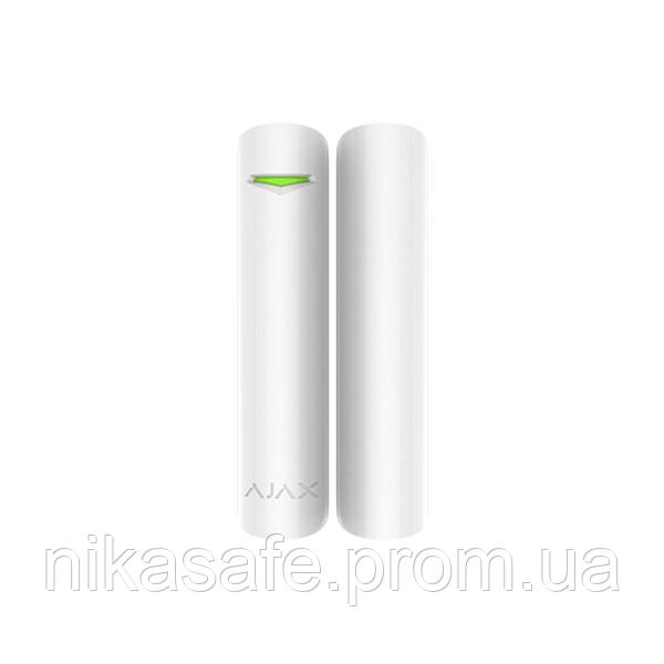 Беспроводной датчик открытия двери/окна Ajax DoorProtect белый