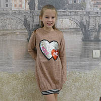 Платье ангора  (резинка-коралл), фото 1