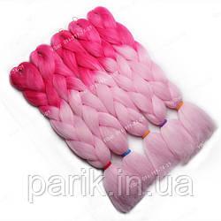 Каникалон ярко розовый светло розовый двухцветный